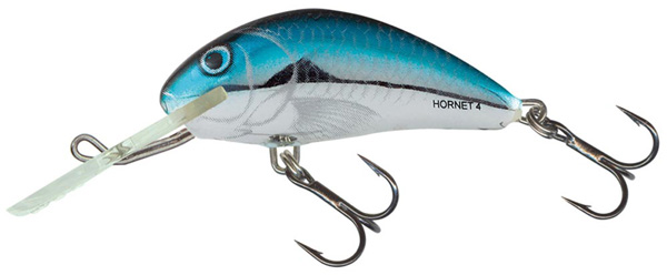 Salmo Hornet 4 cm (4 options) - Silver Blue Herring (BHH)