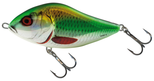 Salmo Slider 12 cm Floating Holographic Psychedelic Roach - Holographic Green Roach (HGR)