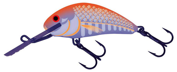 Salmo Hornet 6 cm Sinking (6 options) - Ultraviolet Orange (UVO)