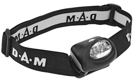DAM Headlamp Multicolour (red/white)