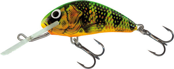 Salmo Hornet 5 cm, USA colors! (23 options) - Holographic Fire Perch