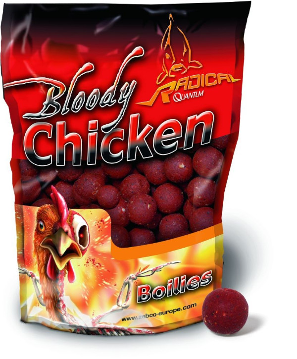 1 kg Radical Bloody Chicken Boilies (2 options)