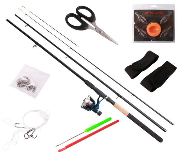 Ultimate Method Feeder Set including rod, reel and lots of accessories!