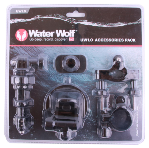 WaterWolf UW1.0 Accessories Pack, also suitable for action cameras!