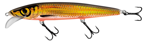 Salmo Whacky 12 cm (4 options) - Gold Chartreuse Shad (GCS)
