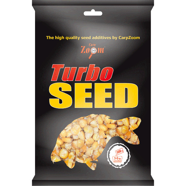 Carp Zoom Turbo Seed 500 g (5 options)