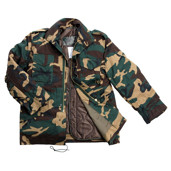 M65 Heavy Jacket Camo (available in size M - XXXL)