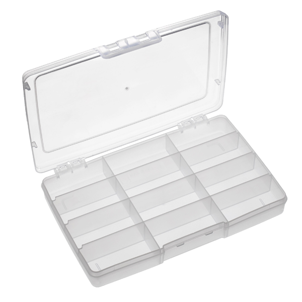 Panaro 191 Tackle Box 245x165x40mm (5 options) - 12 Compartments