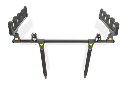 Pike'nBass Float Tube Rod Holder 4Rod, easily take up to 4 spare rods when belly boat fishing!