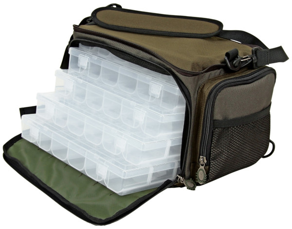 DAM Multi-Backpack including 5 tackle boxes