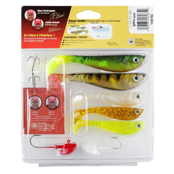 Berkley Powerbait Vertical Fishing Pro Pack (8-piece pack)