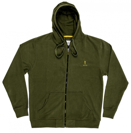Navitas Sport Zipped Hoody Green (available in size L - XXL)