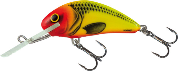 Salmo Hornet 4 cm, USA colors! (26 options) - Uv Lucent Clown