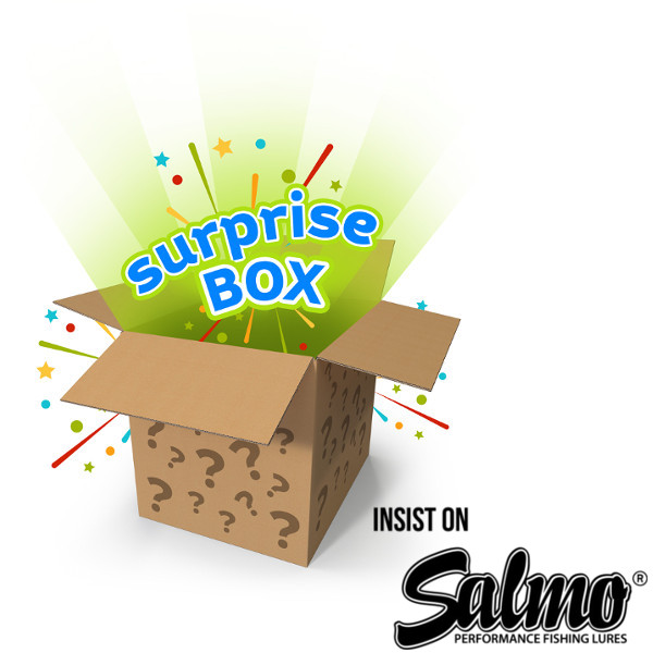 Salmo Surprise Pack with 10 lures!