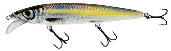 Salmo Whacky 12 cm (4 options) - Silver Chartreuse Shad (SCS)