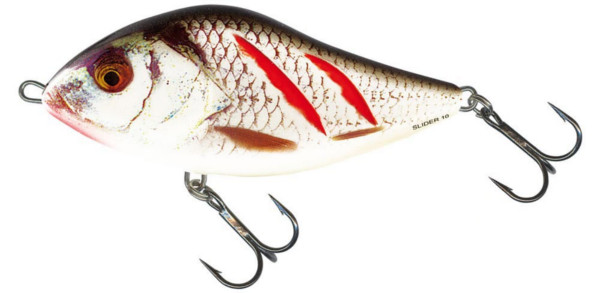 Salmo Slider 6 cm Floating (5 options) - Wounded Real Grey Shiner (WGS)