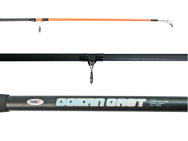NGT Oceancast 3-piece Beach Rod (4.20 m)