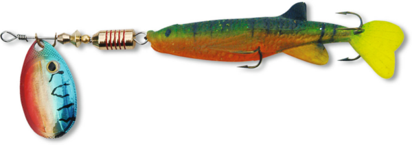 Zebco Minnow Flyer (12 options) - Green/Red