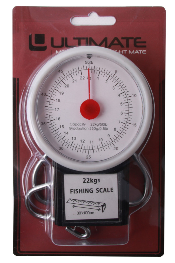 Ultimate 50lbs Scale incl. Measuring Tape