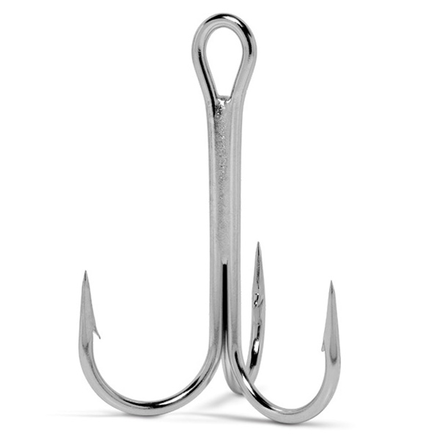 VMC 9649 Round Treble hooks size 10, 10 pcs
