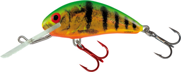 Salmo Hornet 4 cm, USA colors! (26 options) - Holographic Fire Tiger