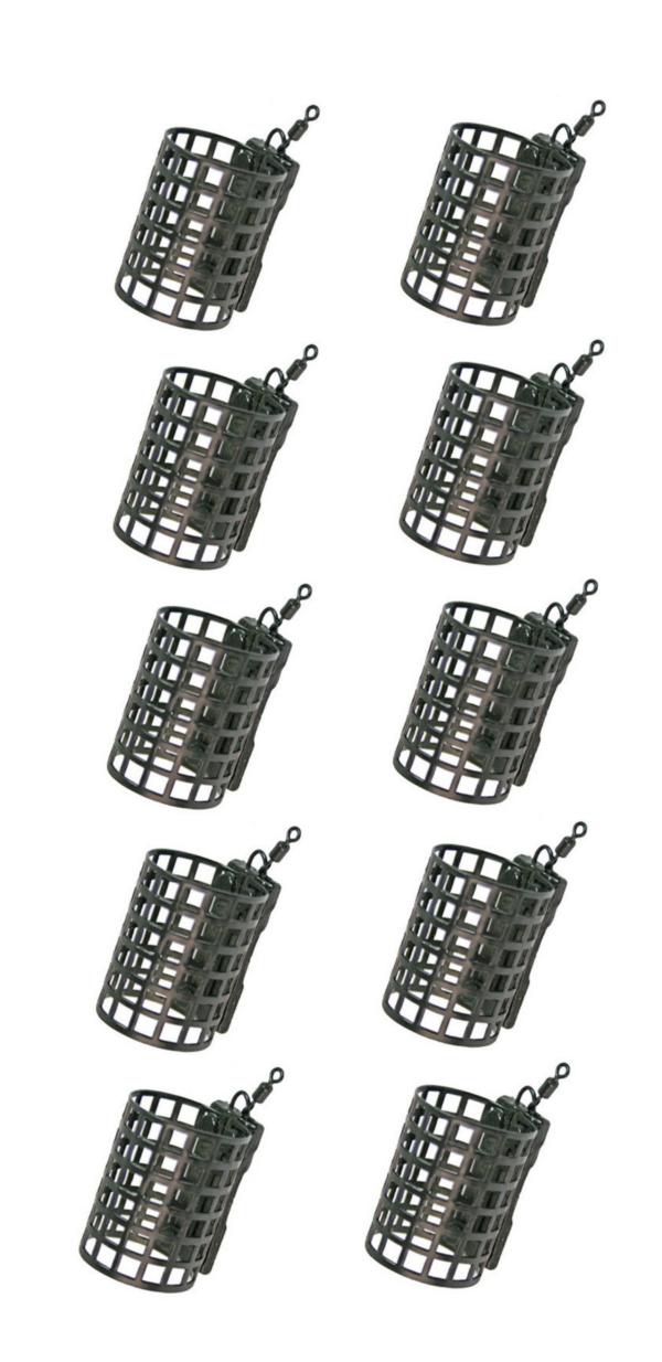 Image of 10 NGT Metal Cage Feeders (15, 20 or 25 gram)