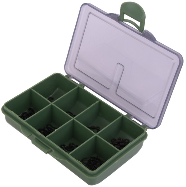 Medium Carp Tackle Box filled with end tackle from Korda, Nash, Rod Hutchinson, Ultimate and more!