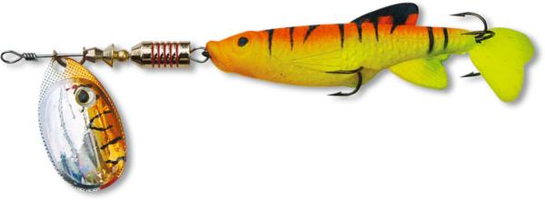Zebco Minnow Flyer (12 options) - Orange/Silver