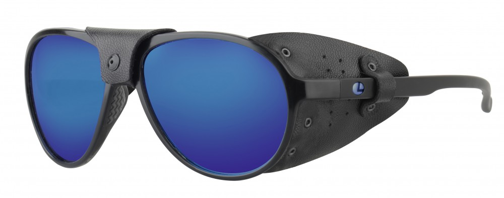 Lenz Optics Spotter Polarised Sunglasses (4 options) - Blue Mirror