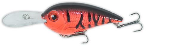 Castaic Cowboy Crankbait 5 cm (5 available colours) - Red Craw