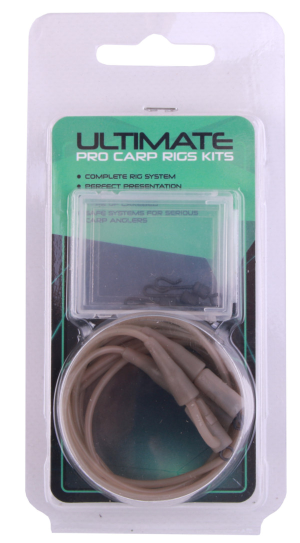 Ultimate Carp Safety Rig Kit (available in 2 colours) - Gravel