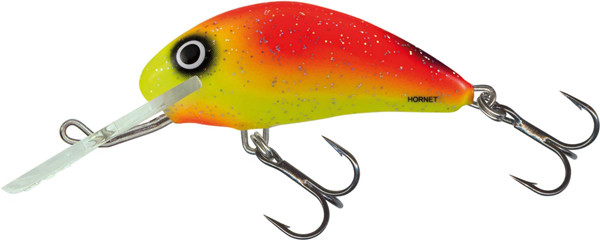 Salmo Hornet 4 cm, USA colors! (26 options) - Uv20 Yellow Belly
