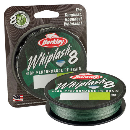 Berkley Whiplash 8 Green 0.06 mm 150 m