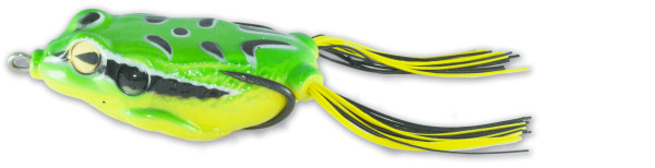 Castaic Frog, weedless topwater for vegetation! (6 options) - Green Frog