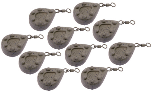 Image of 10 NGT Coated Camo Leads (9 options)