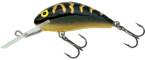Salmo Hornet 6 cm Sinking (6 options) - Black Tiger (BLT)