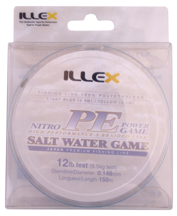 Illex Nitro PE Power Game High Performance Braid (3 options)