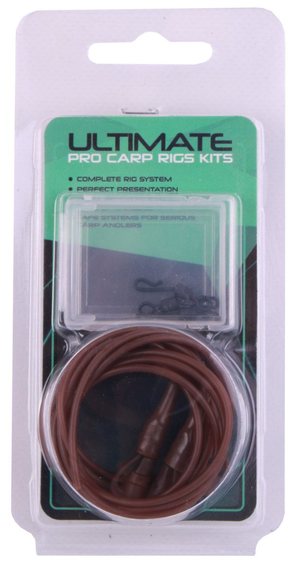 Ultimate Carp Safety Rig Kit (available in 2 colours) - Brown