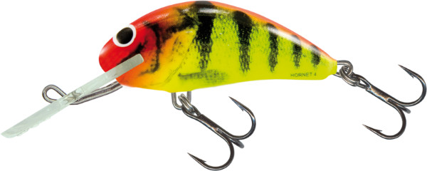 Salmo Hornet 4 cm, USA colors! (26 options) - Clown Yellow Perch