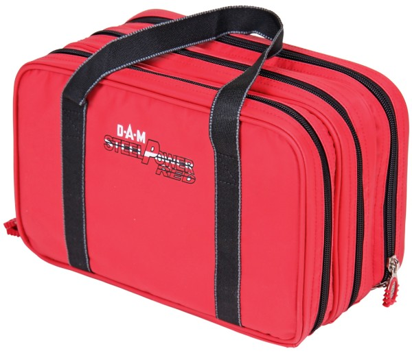 DAM Steelpower Red Water-Repellent Lure Bag