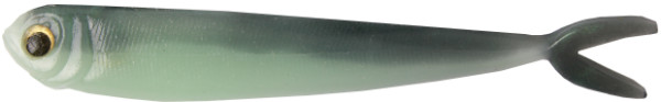 """Fishbelly Hawg Shads Split Tail 5"""", 5 pcs (12 options) - Green Shad"""