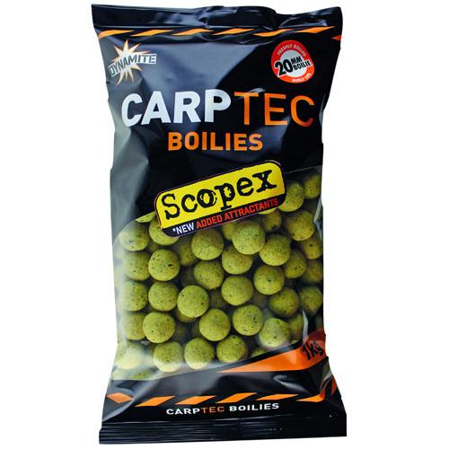 1 kg Dynamite Baits CarpTec Boilies (7 available flavours) - Scopex