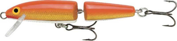 Rapala Jointed Floating 13 cm (5 Options) - Gold Fluorescent Red