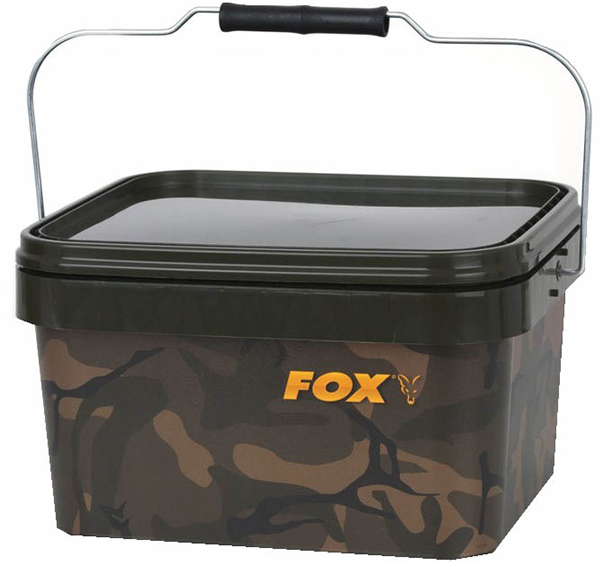 Fox Camo Square Bucket (3 options)