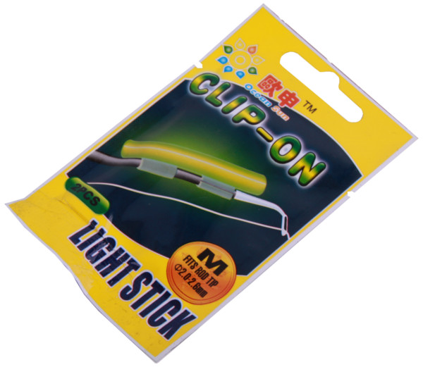 Image of 10 Clip On Light Sticks for your rod tip (5 options)