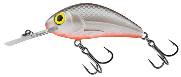 Salmo Rattlin Hornet 6.5 cm (3 options) - Grey Silver (GRS)