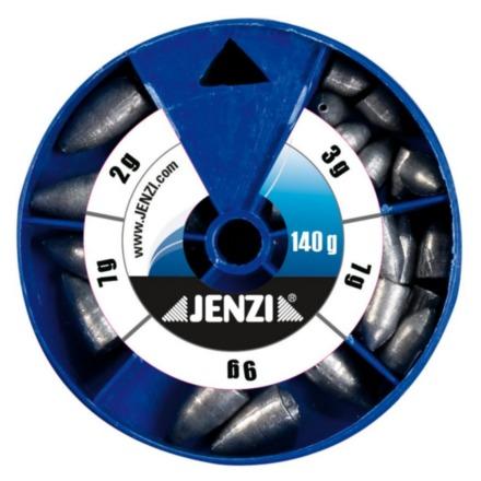 Jenzi Drop Shot / Texas / Carolina Rig Lead Assortment (3 options)