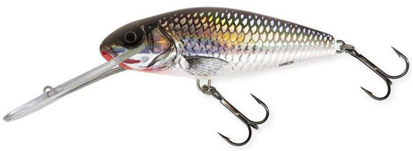 Salmo Perch SDR 14 cm (3 options) - Holo Grey Shiner (HGS)