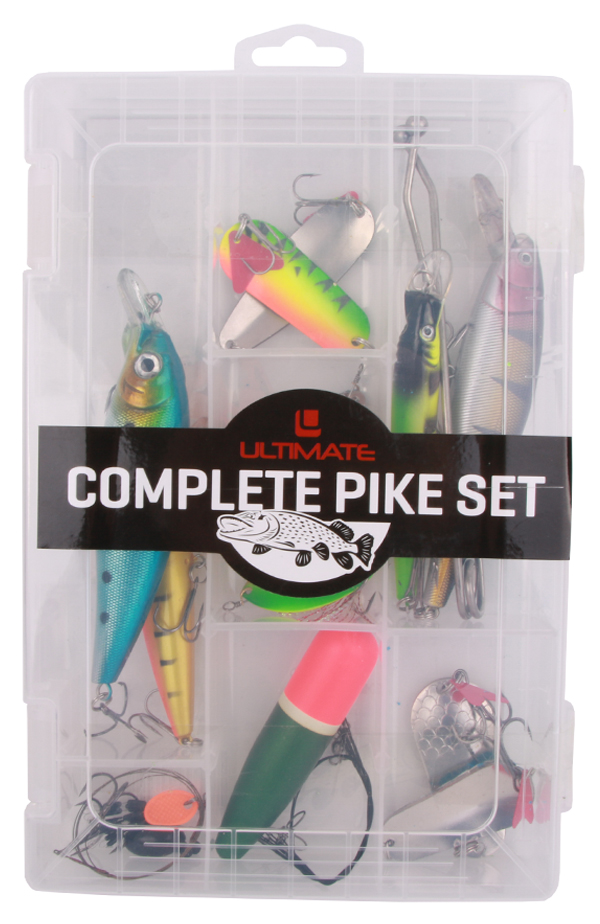 Ultimate Pike Set with lures, deadbait rig, floats and more!