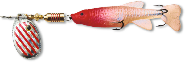 Zebco Minnow Flyer (12 options) - Silver/Red